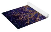 Holiday Lights Yoga Mat