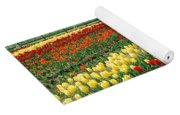 Holland Tulip Fields Yoga Mat