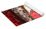 Home Sweet Home Decorative Design Welcoming Two Yoga Mat