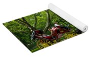 Horse And Carriage Central Park Yoga Mat