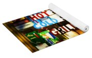 Hot And Cold Foods Yoga Mat