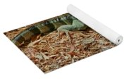 Iguana With A Smile Yoga Mat