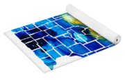 Illinois - Map Counties By Sharon Cummings Yoga Mat