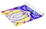 Illuminated Blossom Yoga Mat