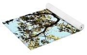 Illuminated Oak Tree Yoga Mat