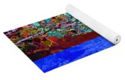Illusion Of Lake And Forest Yoga Mat