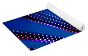 In Lights Abstract Yoga Mat