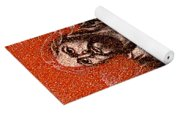 In The Arms Of Christ Yoga Mat