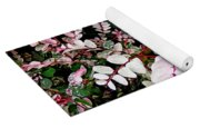 Indigo Plant In Stereo Yoga Mat