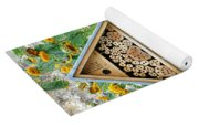 Insect Hotel Yoga Mat