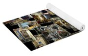 Interior Russian Submarine Horz Collage Yoga Mat