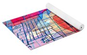 Interstate 10- Exit 255- Miracle Mile Overpass- Rectangle Remix Yoga Mat