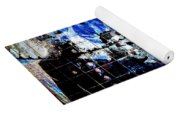 Interstate 10- Exit 257a- St Marys Rd / 6th St Underpass- Rectangle Remix Yoga Mat