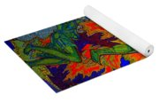 Into The Flames Of Hell Yoga Mat