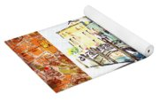 Italy Sketches Venice Canale Yoga Mat