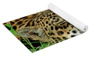 Jaguar Resting Yoga Mat
