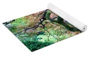 Japanese Tree In Garden Yoga Mat