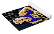John Stockton Portrait Yoga Mat