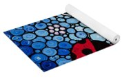 Joyous Ladies Ladybugs Yoga Mat