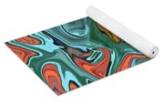 Just Abstract Vii Yoga Mat