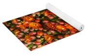 Kalanchoe Plant With Butterfly Yoga Mat