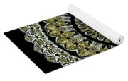 Kaleidoscope Ernst Haeckl Sea Life Series Steampunk Feel Yoga Mat