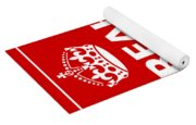 Keep Calm And Carry On Parody Red Yoga Mat