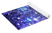 Kingdoms Of Heaven And Earth - Blue Yoga Mat