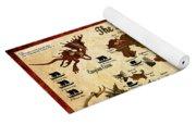 Kingdoms Of Magic Battle Map Yoga Mat