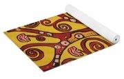 Klimt Study Tree Of Life Yoga Mat