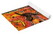 Lady Of Hope - A Breast Cancer Donation Yoga Mat