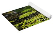 Lake With Lily Pads Yoga Mat