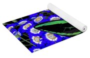 Large Green Butterfly Yoga Mat