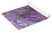 Lavender Butterfly Bush Yoga Mat