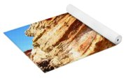 Layered Broome Rock Yoga Mat