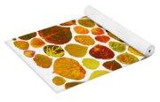 Leaf Collage 2 Yoga Mat