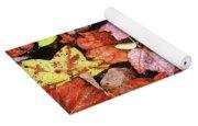 Leaf Patterns 2 Yoga Mat