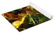 Leafy Tree Image Yoga Mat