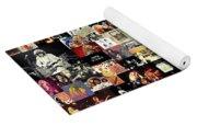 Led Zeppelin Collage Yoga Mat
