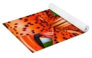 Leopard Lily Yoga Mat
