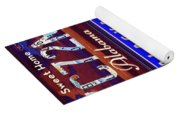 License Plate Yoga Mat