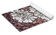Lichen On Rock Yoga Mat
