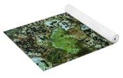 Lichen On Rock In Suck Creek Yoga Mat