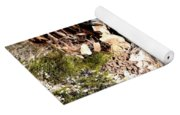 Lichens Abstract 2013 Yoga Mat