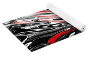 Licorice With Red Cherry Yoga Mat