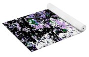 Lilac Crepe Myrtle Bloom  Yoga Mat