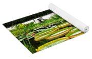 Lily Pad Garden Yoga Mat