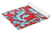 Lined Girl Yoga Mat
