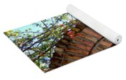 Lion Arch With Flowers Yoga Mat
