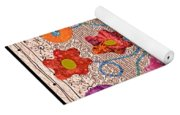 Liquid Flowers Yoga Mat